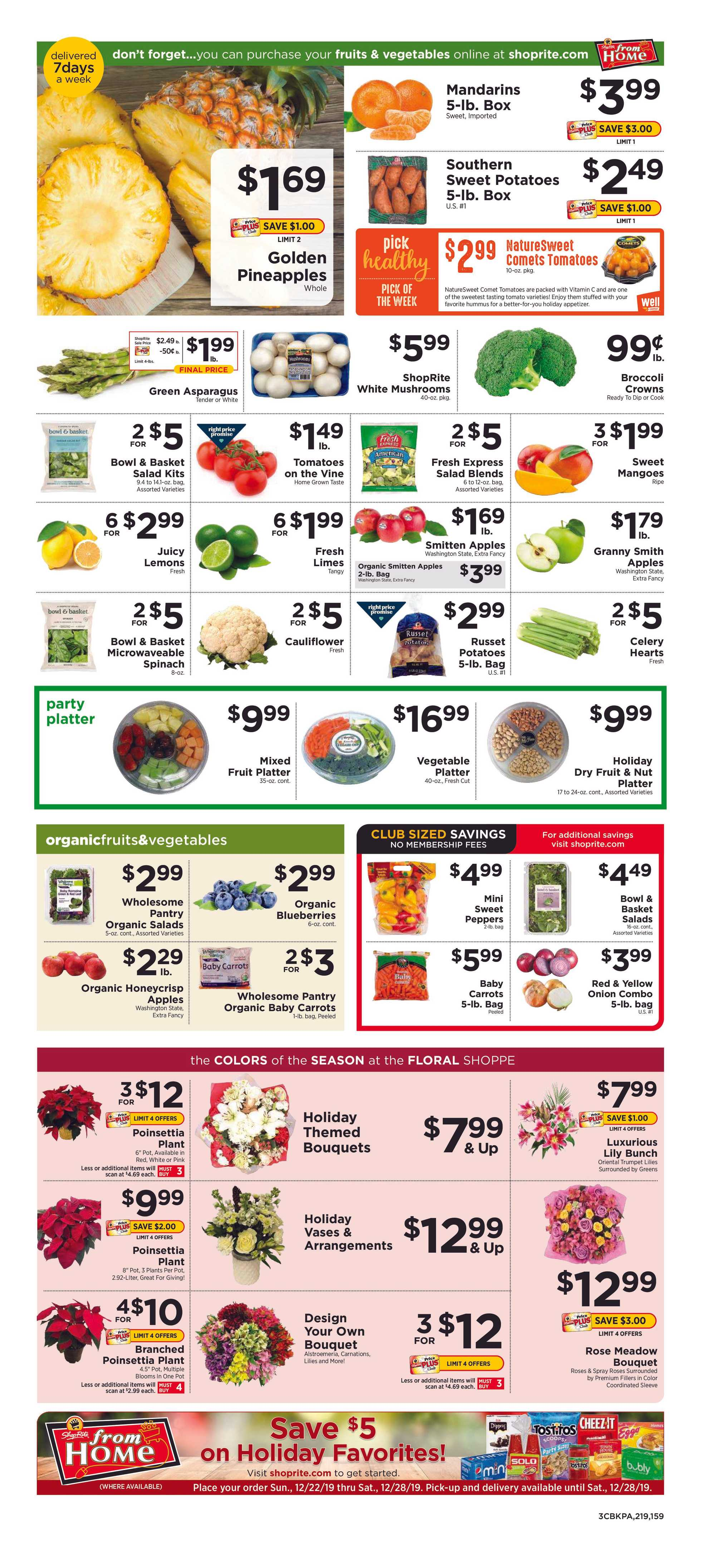 ShopRite - promo starting from 12/22/19 to 12/28/19 - page 3.