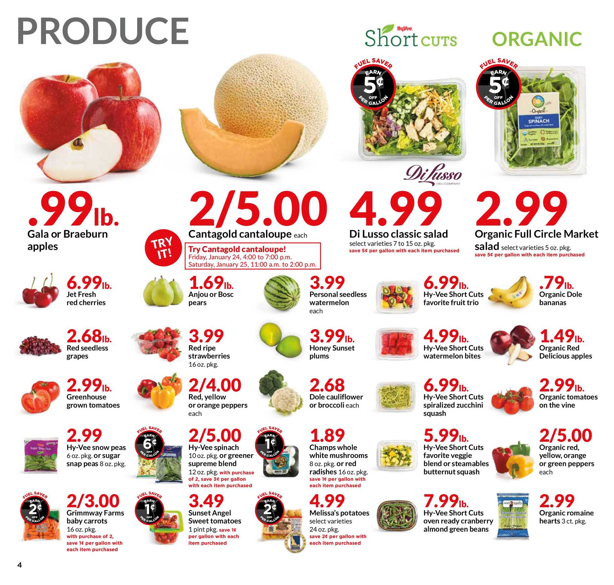 Hy-Vee - promo starting from 01/22/20 to 01/28/20 - page 4.