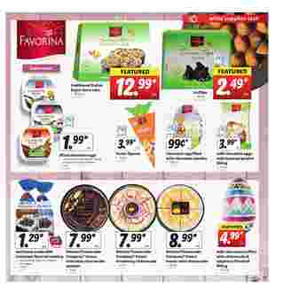 Lidl - deals are valid from 04/01/20 to 04/07/20 - page 11.