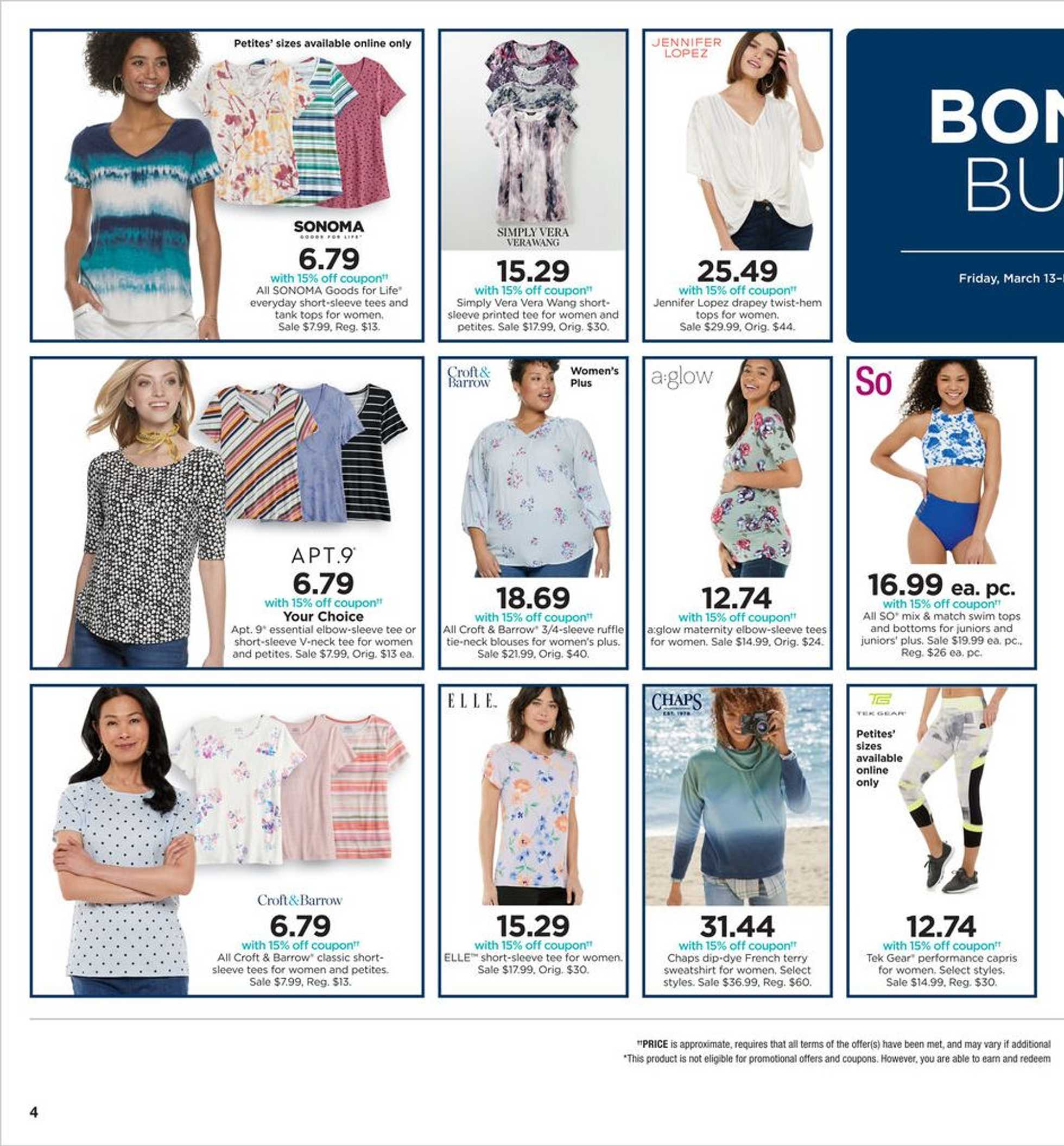 Kohl's - deals are valid from 03/13/20 to 03/22/20 - page 4.