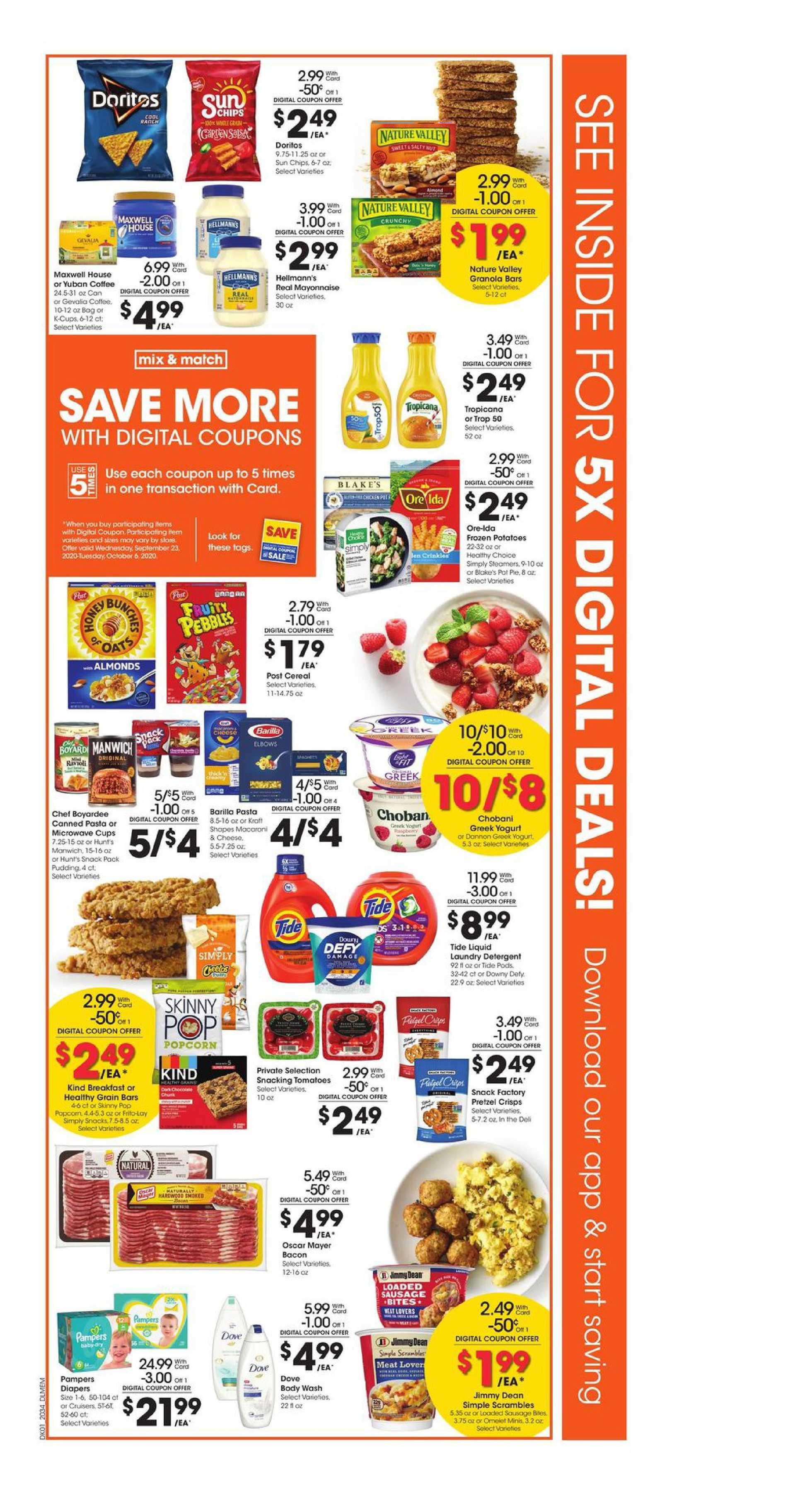 Kroger - deals are valid from 09/23/20 to 09/29/20 - page 2.