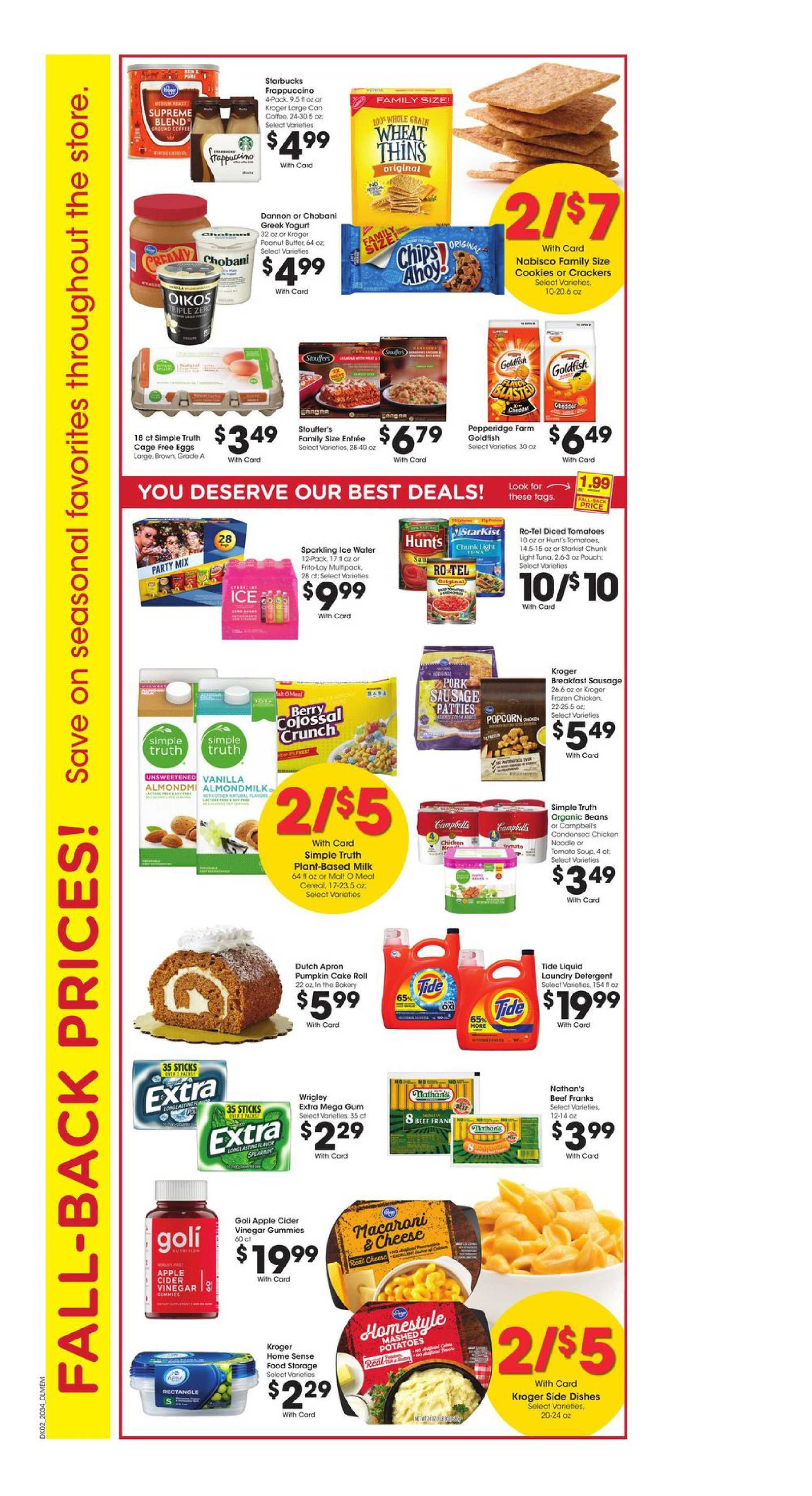 Kroger - deals are valid from 09/23/20 to 09/29/20 - page 3.