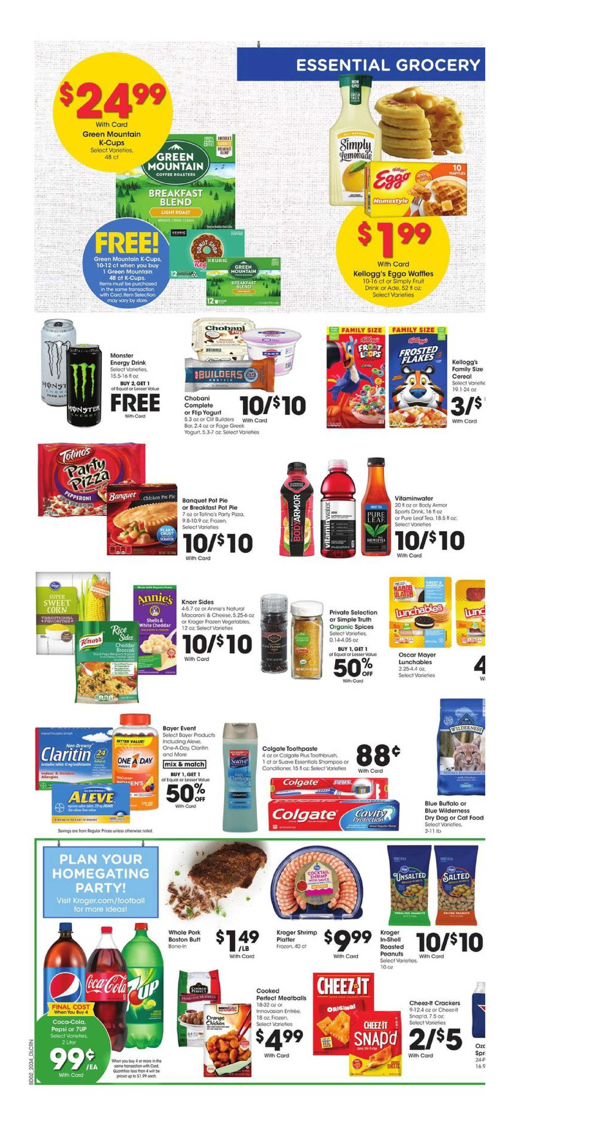 Kroger - deals are valid from 09/23/20 to 09/29/20 - page 4.