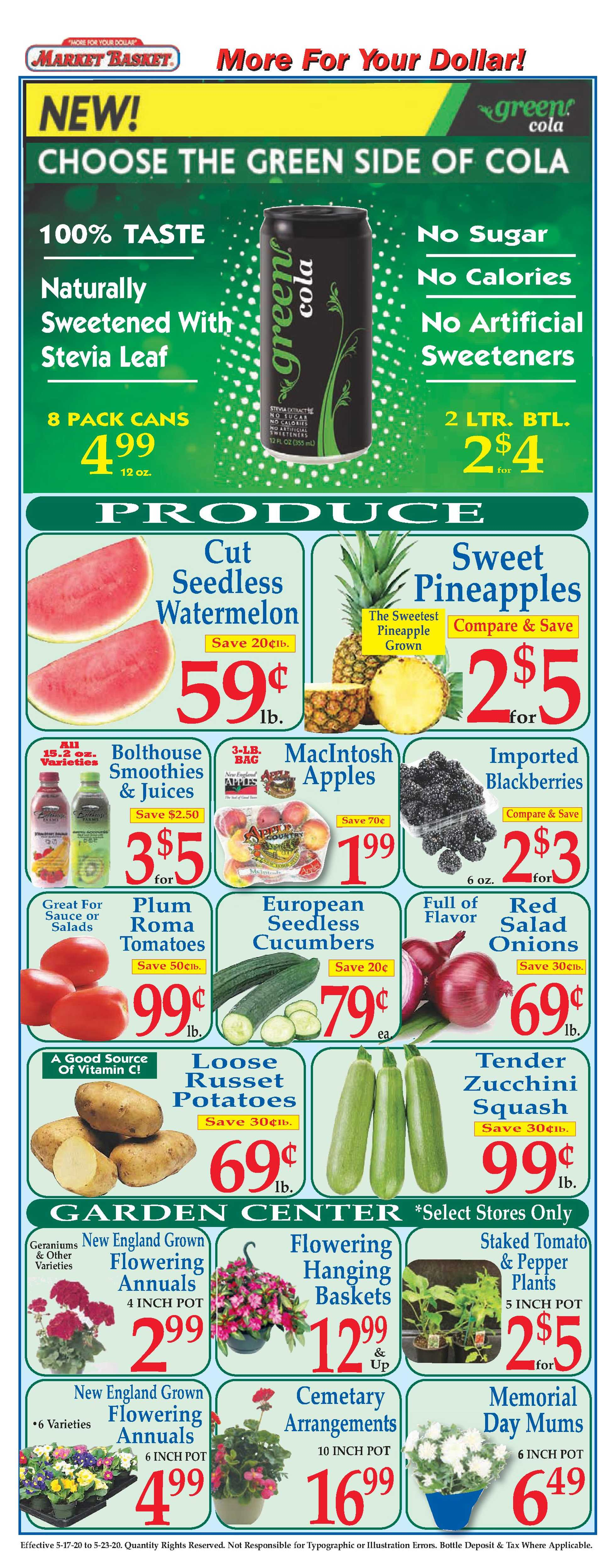 Market Basket - deals are valid from 05/17/20 to 05/23/20 - page 2.
