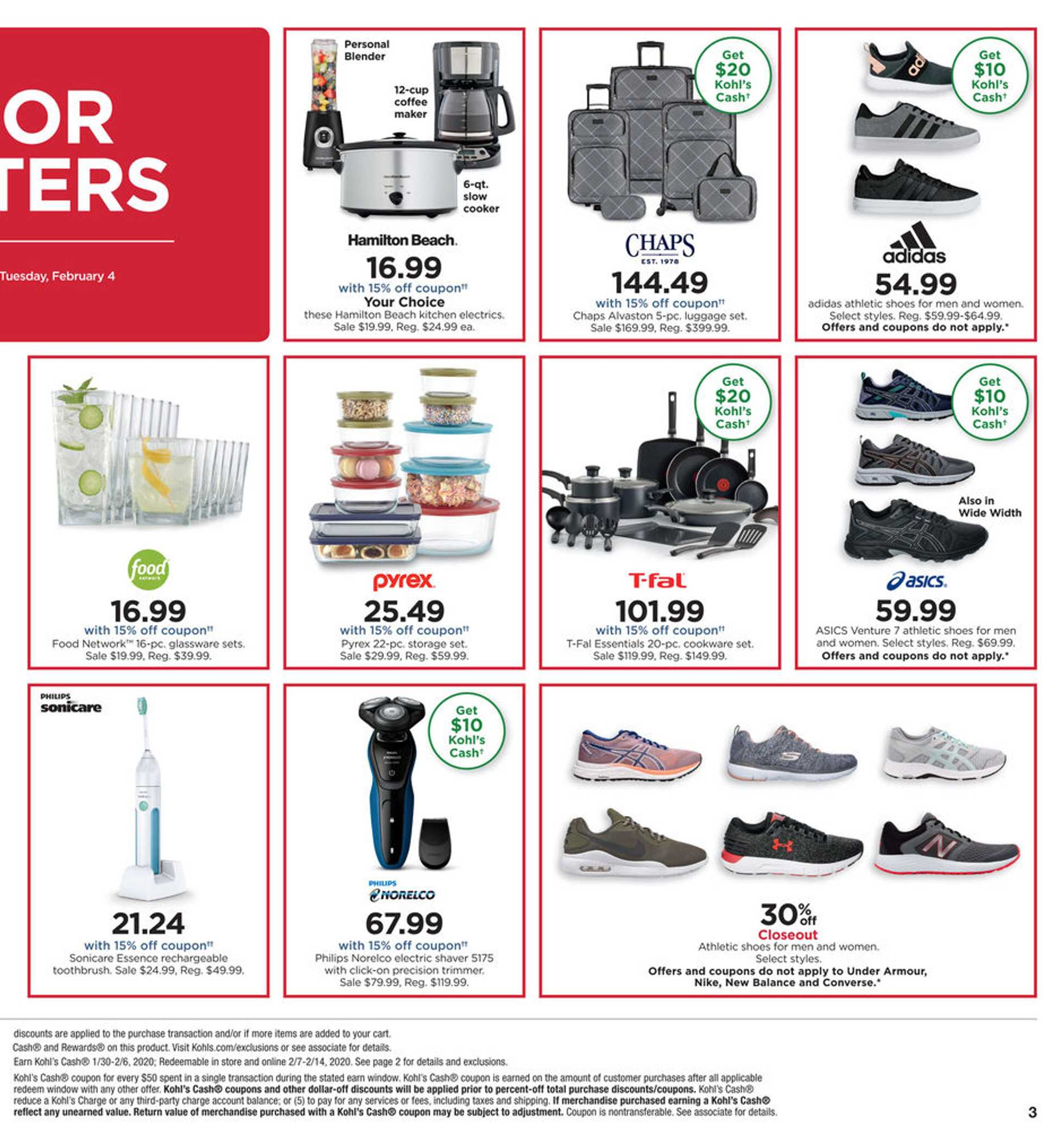 Kohl's - deals are valid from 02/02/20 to 02/06/20 - page 3.