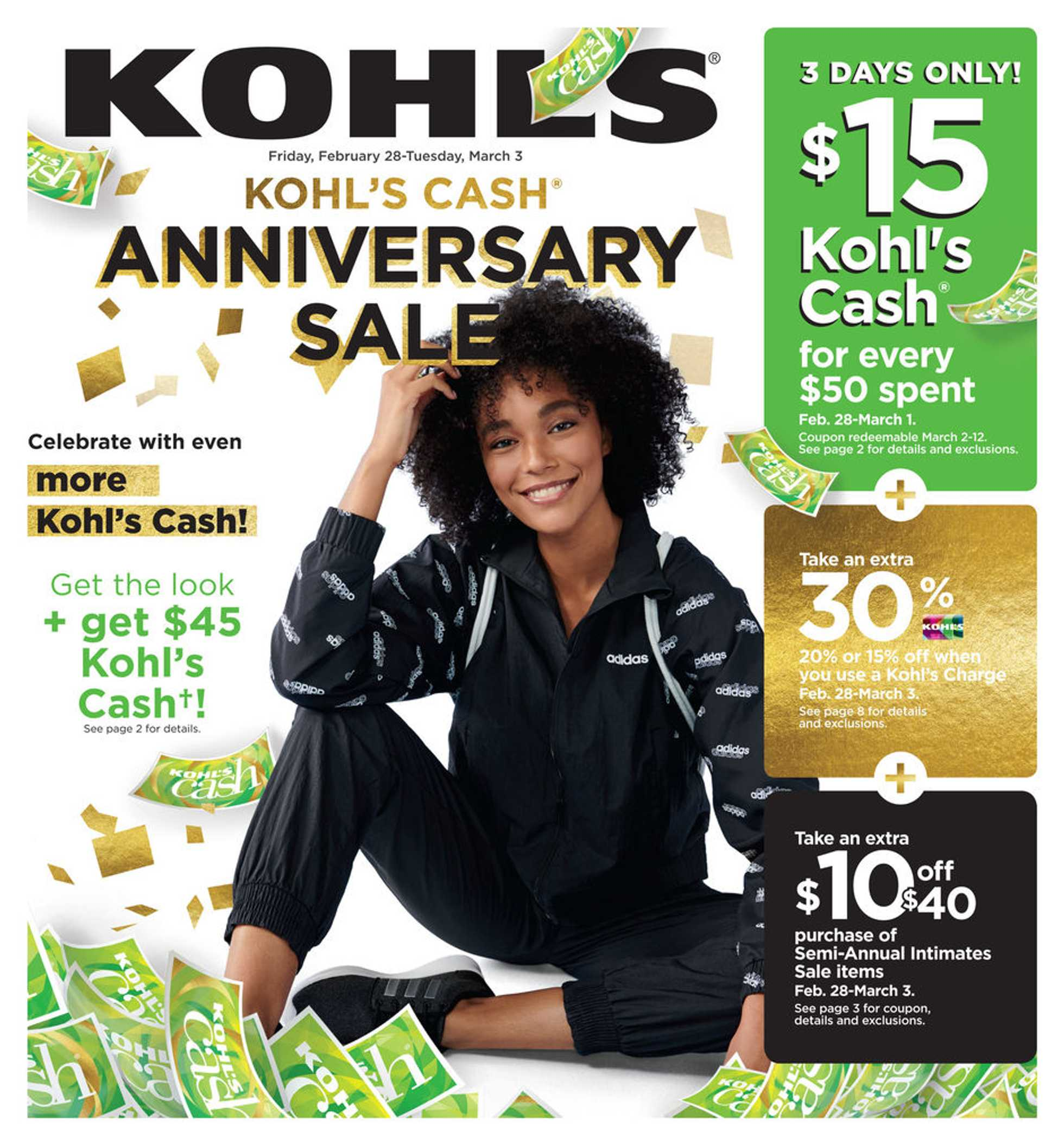 Kohl's - deals are valid from 01/28/20 to 03/03/20 - page 1.