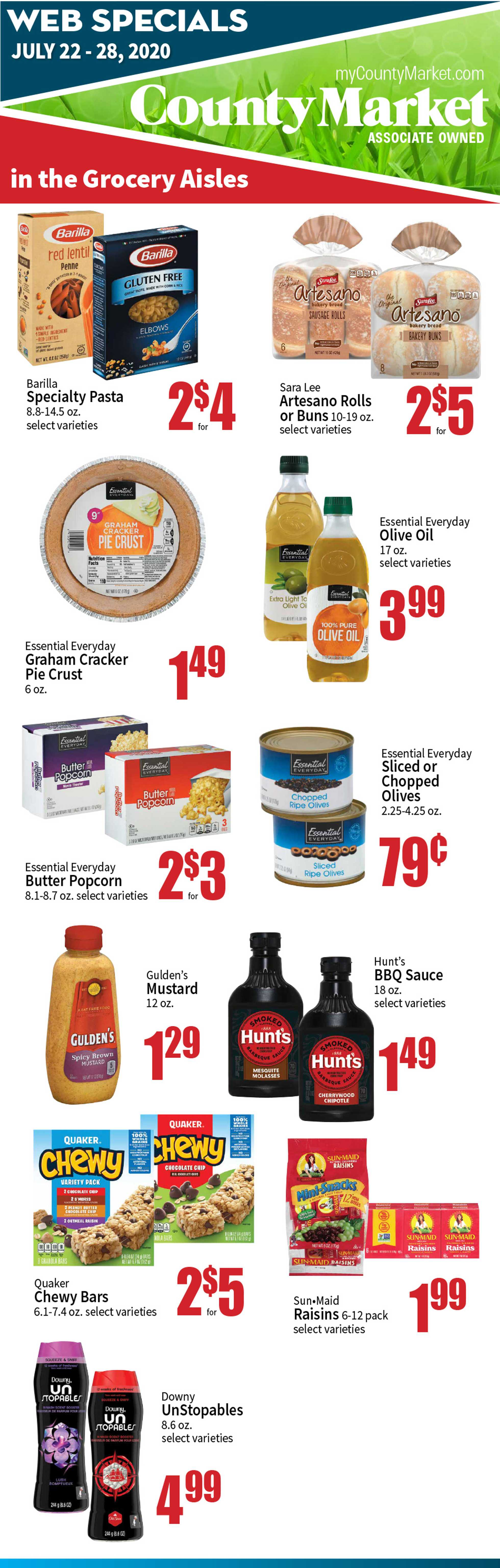 County Market - deals are valid from 07/22/20 to 07/28/20 - page 2.