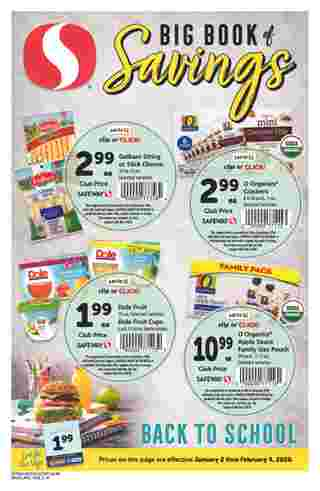 Safeway - deals are valid from 01/02/20 to 02/04/20 - page 28.
