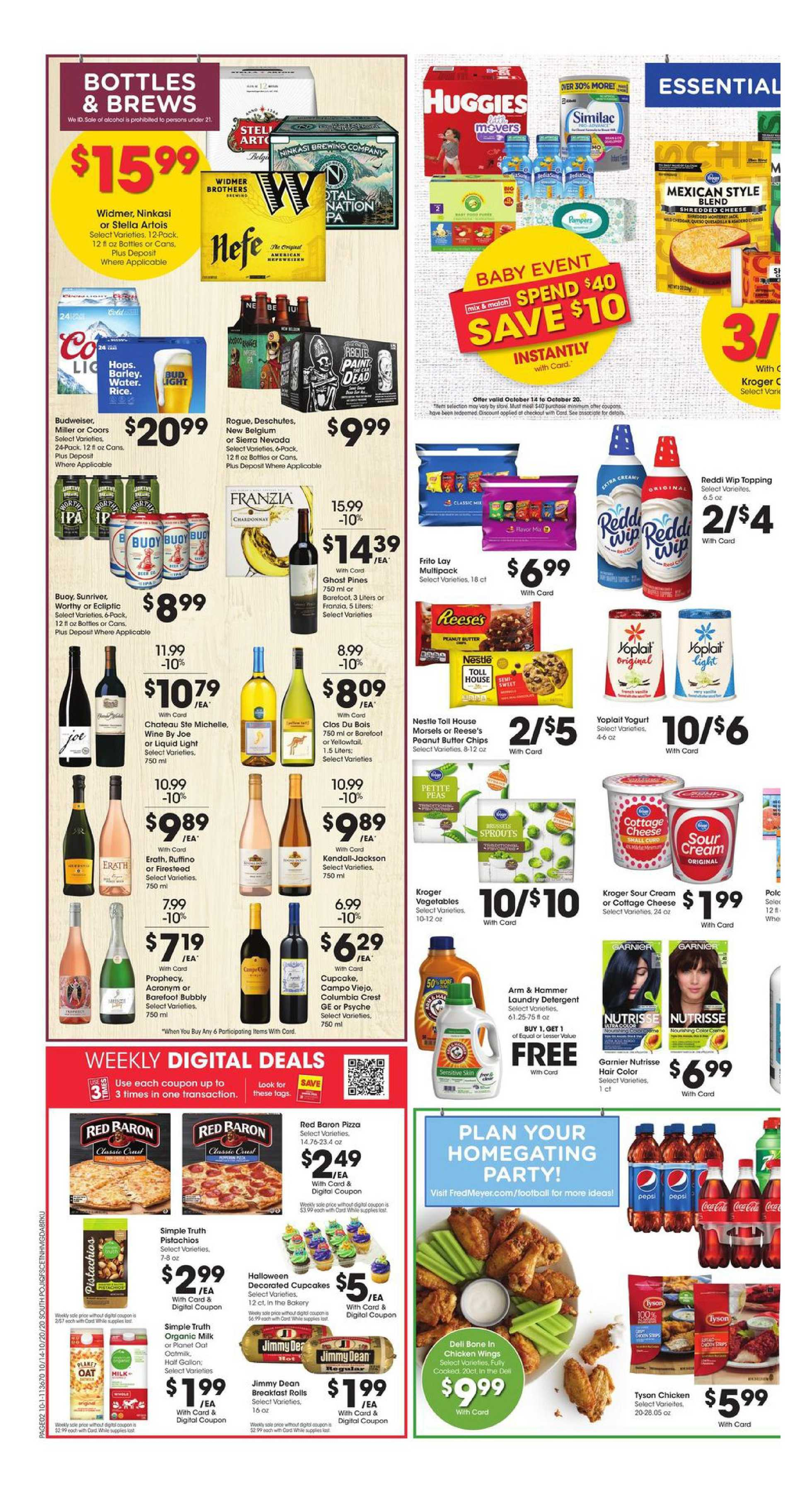 Fred Meyer - deals are valid from 10/14/20 to 10/20/20 - page 2.