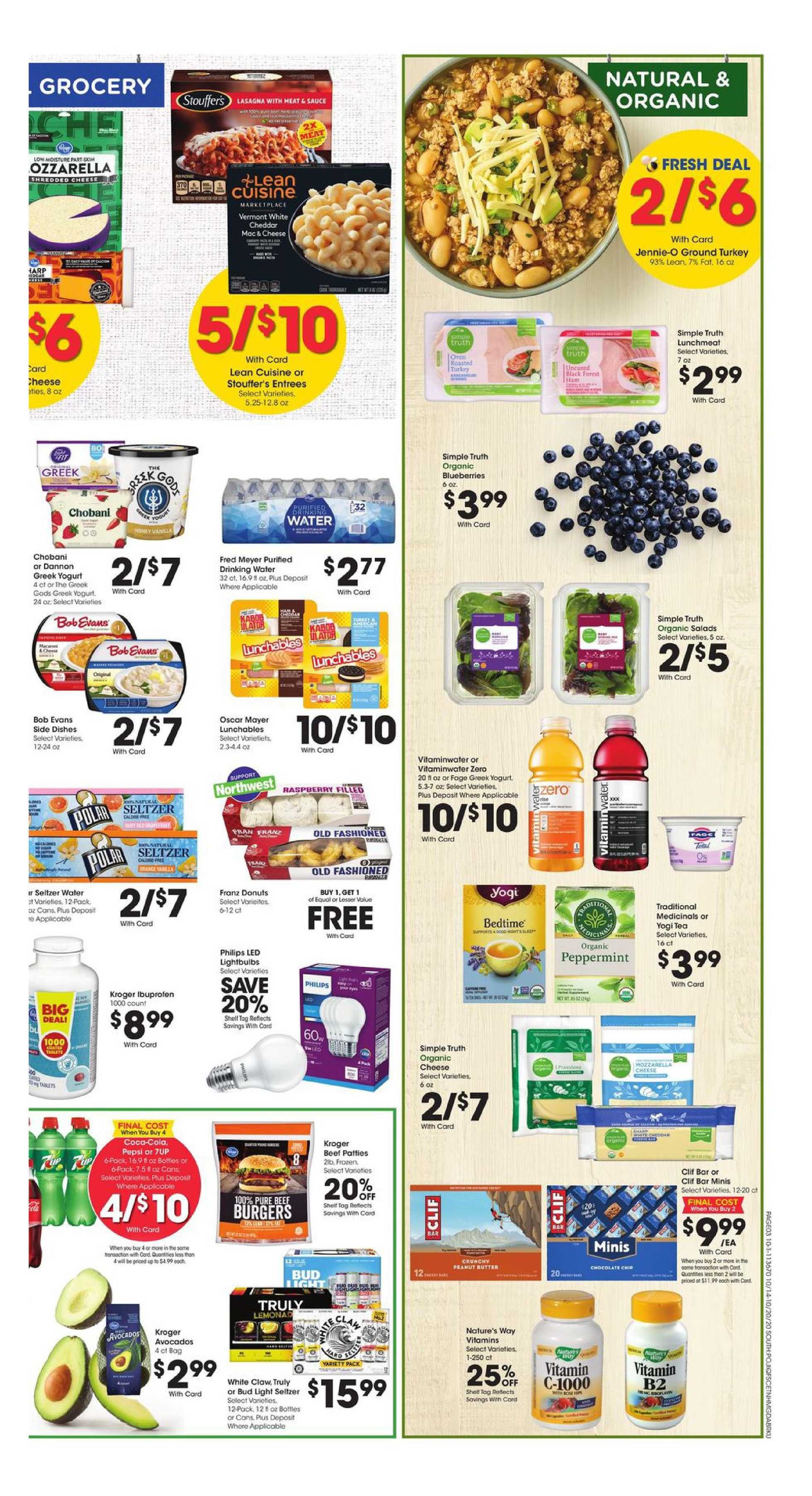 Fred Meyer - deals are valid from 10/14/20 to 10/20/20 - page 3.
