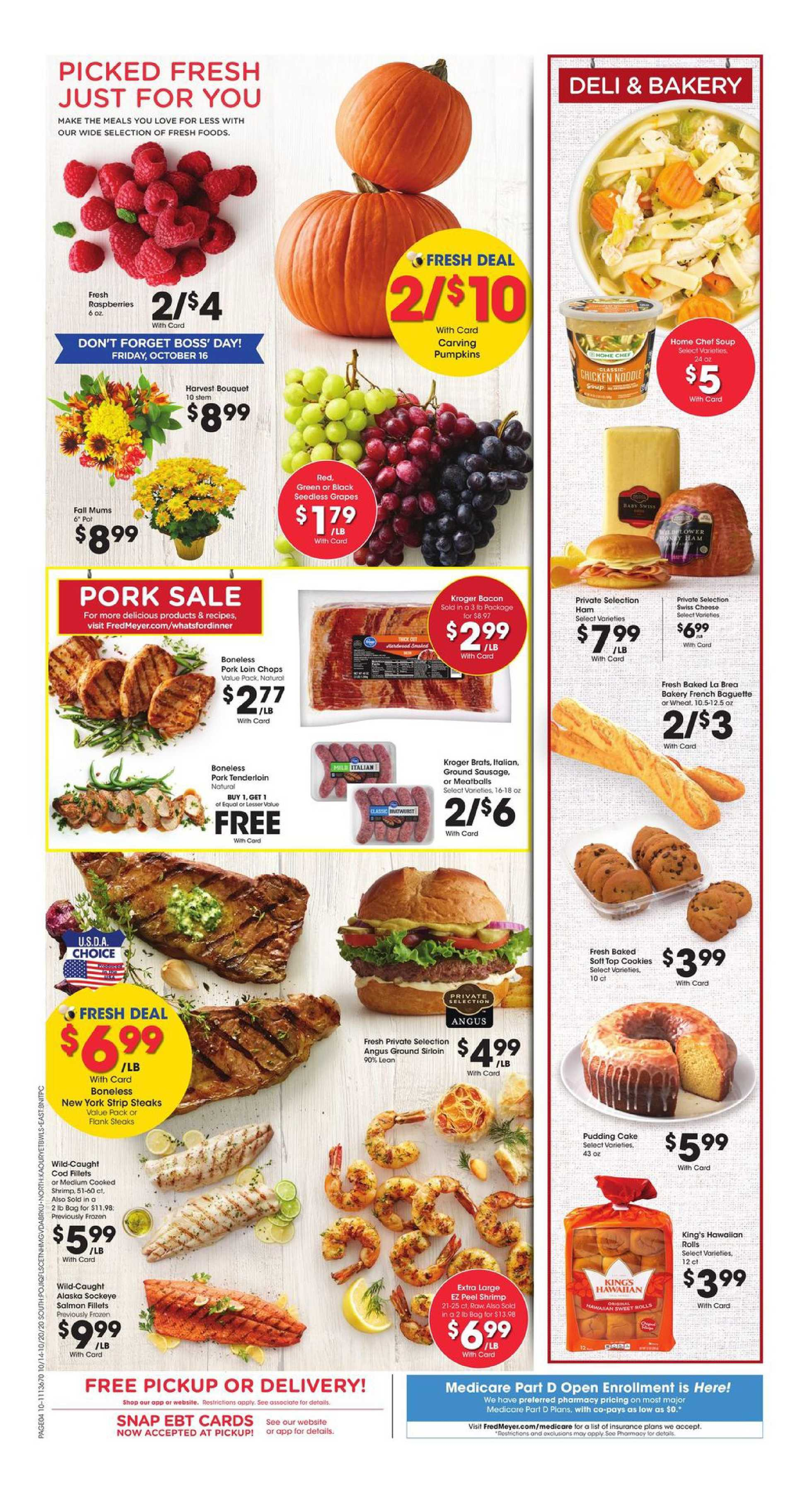 Fred Meyer - deals are valid from 10/14/20 to 10/20/20 - page 4.