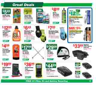 O'reilly - deals are valid from 06/24/20 to 07/28/20 - page 11.