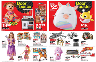Target - promo starting from 11/28/19 to 11/30/19 - page 13. The promotion includes cafe, rug, baby