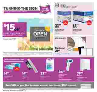 Staples - deals are valid from 10/04/20 to 10/10/20 - page 5.