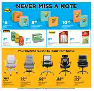 Staples - deals are valid from 08/30/20 to 09/05/20 - page 6.