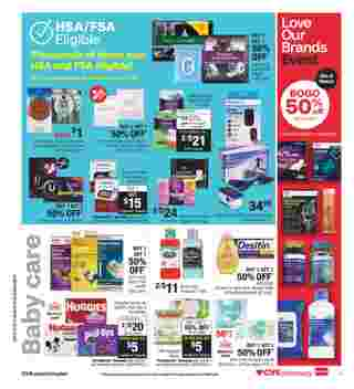 CVS - deals are valid from 10/11/20 to 10/17/20 - page 9.