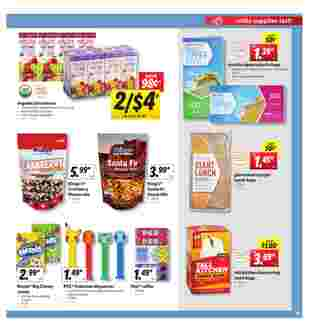 Lidl - deals are valid from 08/05/20 to 08/11/20 - page 13.