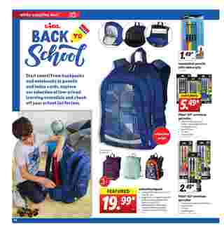 Lidl - deals are valid from 08/05/20 to 08/11/20 - page 14.