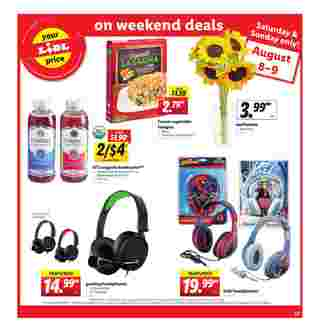 Lidl - deals are valid from 08/05/20 to 08/11/20 - page 23.