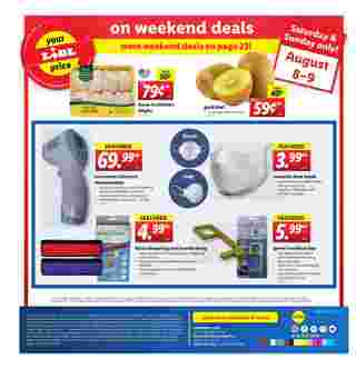 Lidl - deals are valid from 08/05/20 to 08/11/20 - page 24.