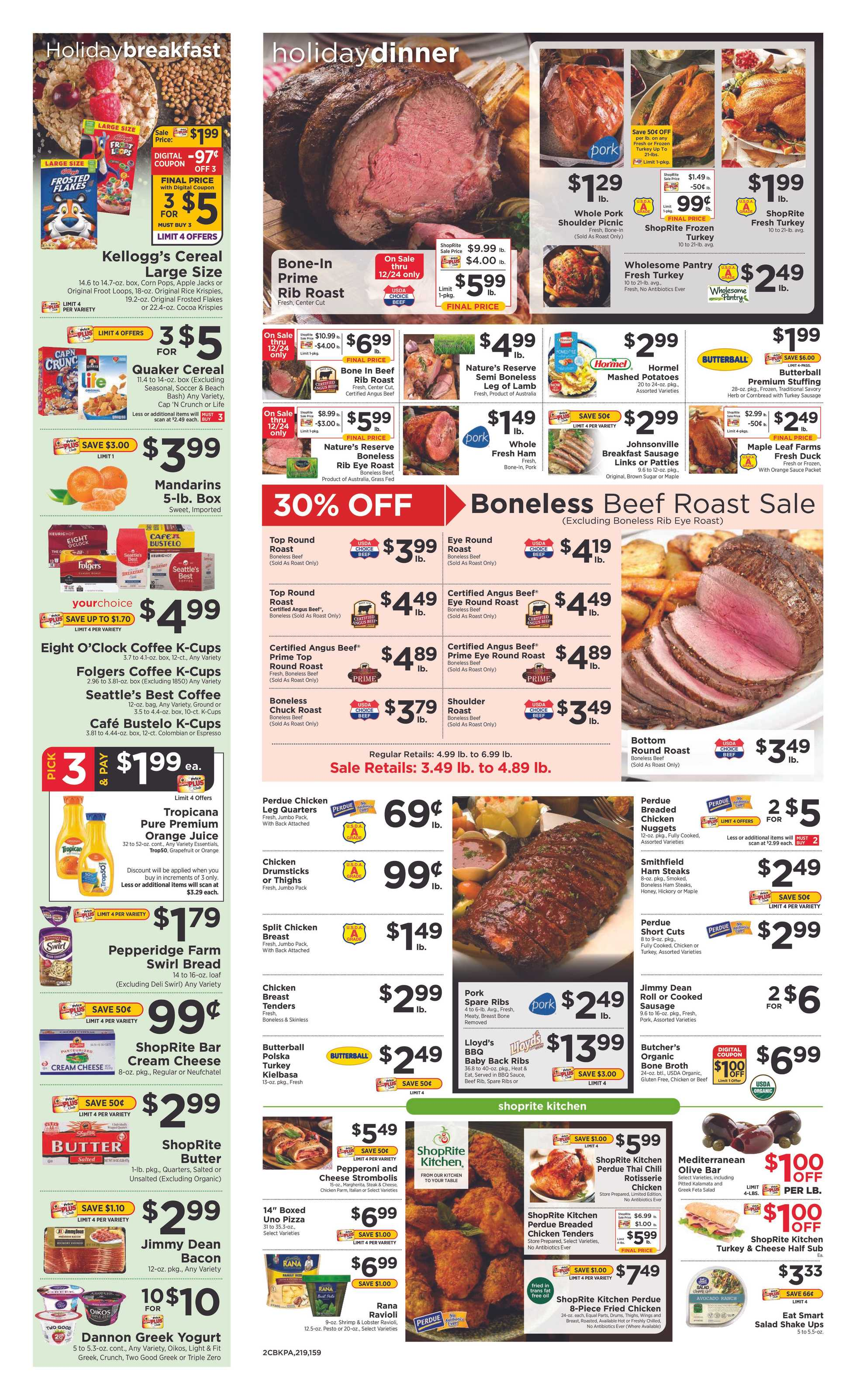 ShopRite - deals are valid from 12/22/19 to 12/28/19 - page 2.