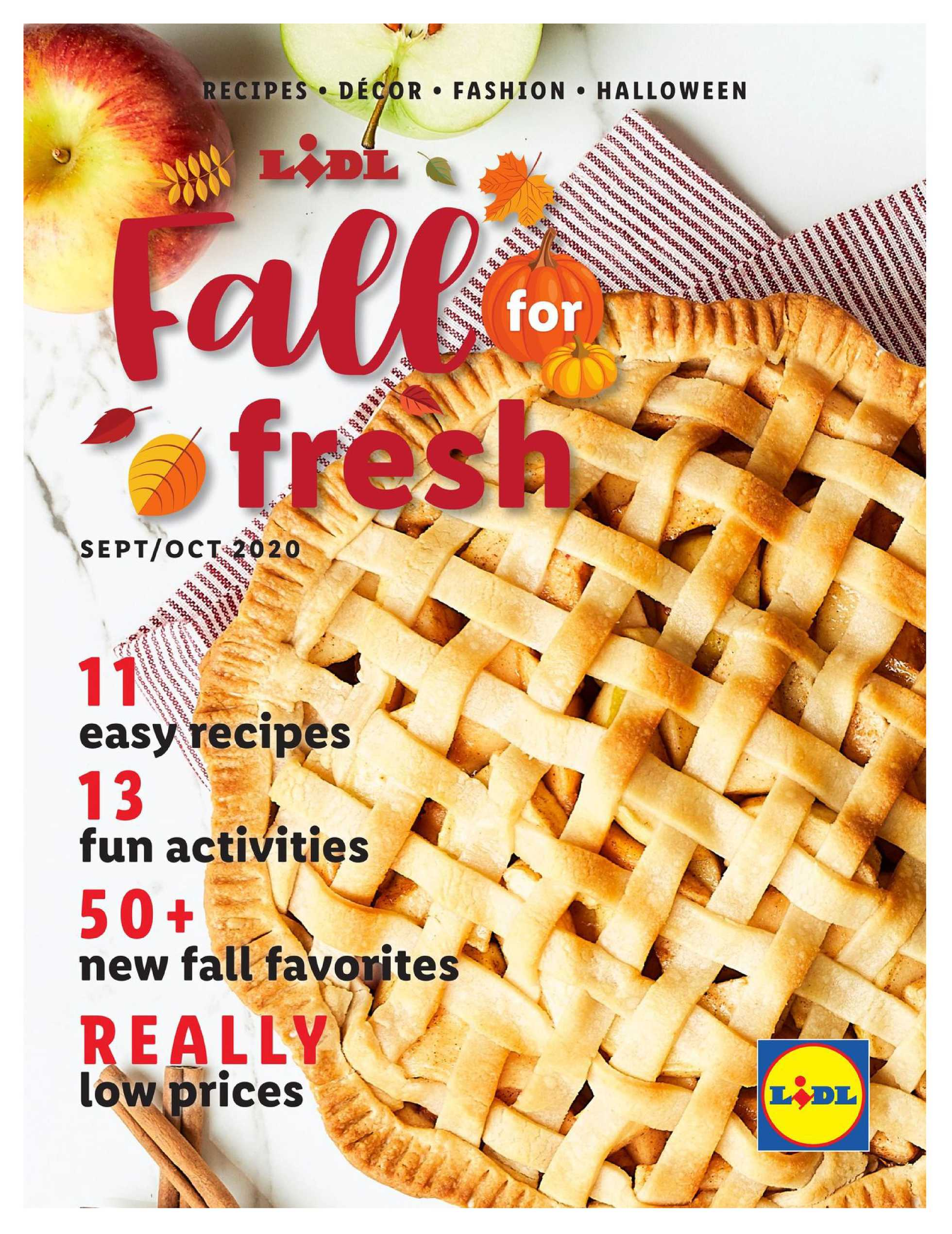 Lidl - deals are valid from 09/09/20 to 10/28/20 - page 1.