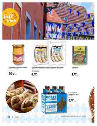 Lidl - deals are valid from 09/09/20 to 10/28/20 - page 14.