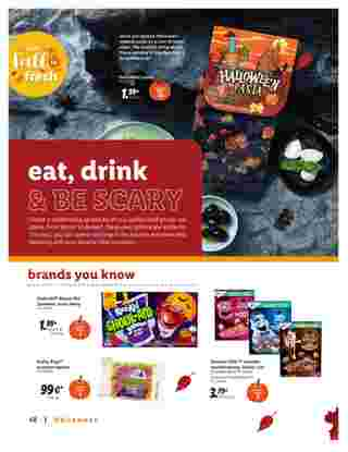 Lidl - deals are valid from 09/09/20 to 10/28/20 - page 48.