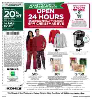 Kohl's - deals are valid from 12/20/19 to 12/24/19 - page 24.