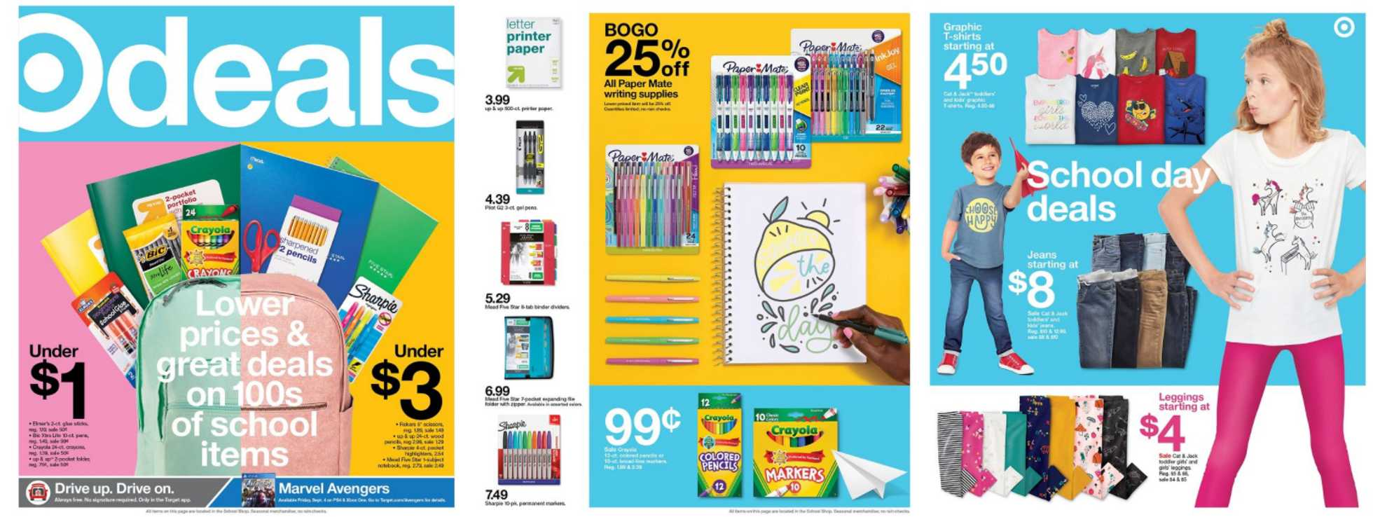 Target - deals are valid from 08/30/20 to 09/05/20 - page 1.