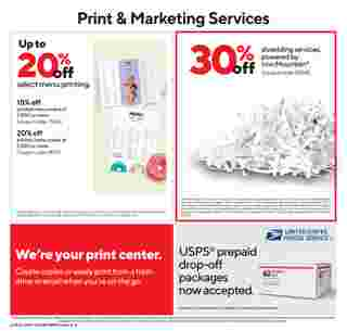 Staples - deals are valid from 02/28/21 to 03/06/21 - page 7.