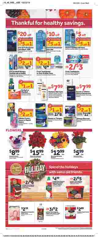 Stop & Shop - deals are valid from 11/08/19 to 11/14/19 - page 22.