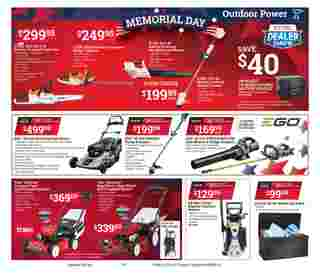 ACE Hardware - deals are valid from 05/13/20 to 05/25/20 - page 5.