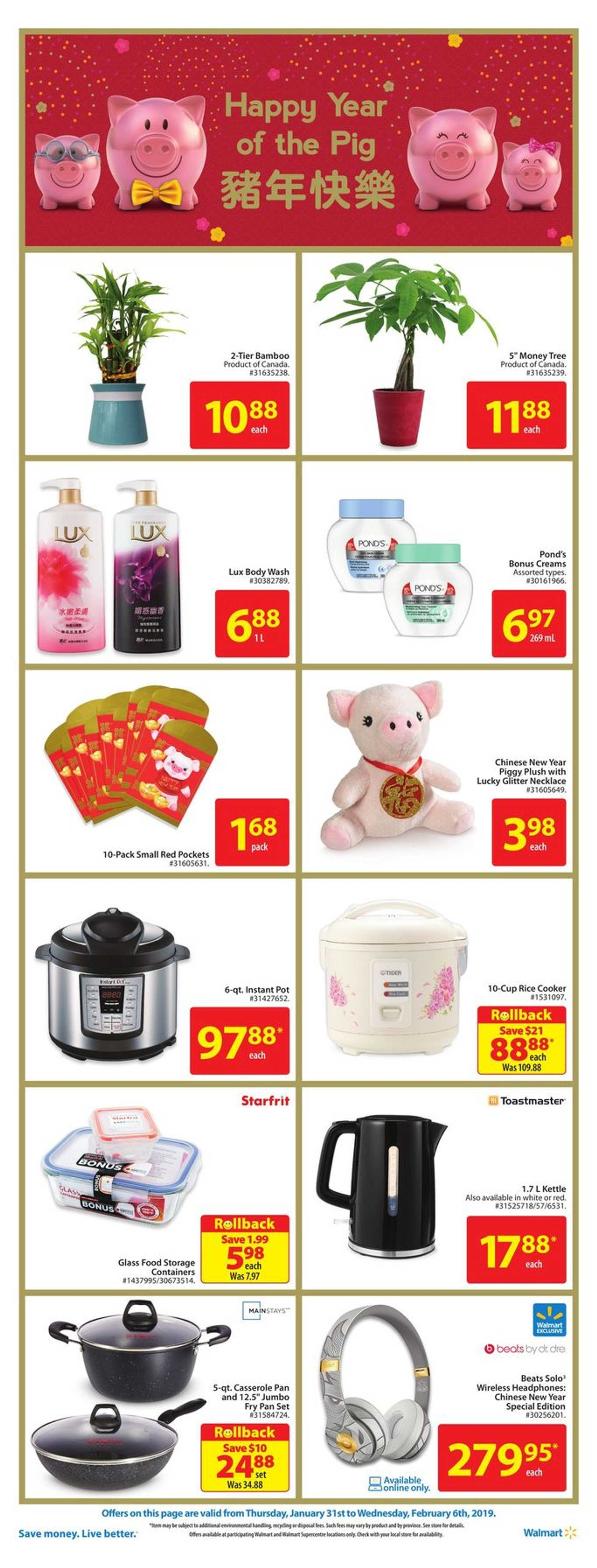 Walmart - deals are valid from 01/31/19 to 02/06/19 - page 2.