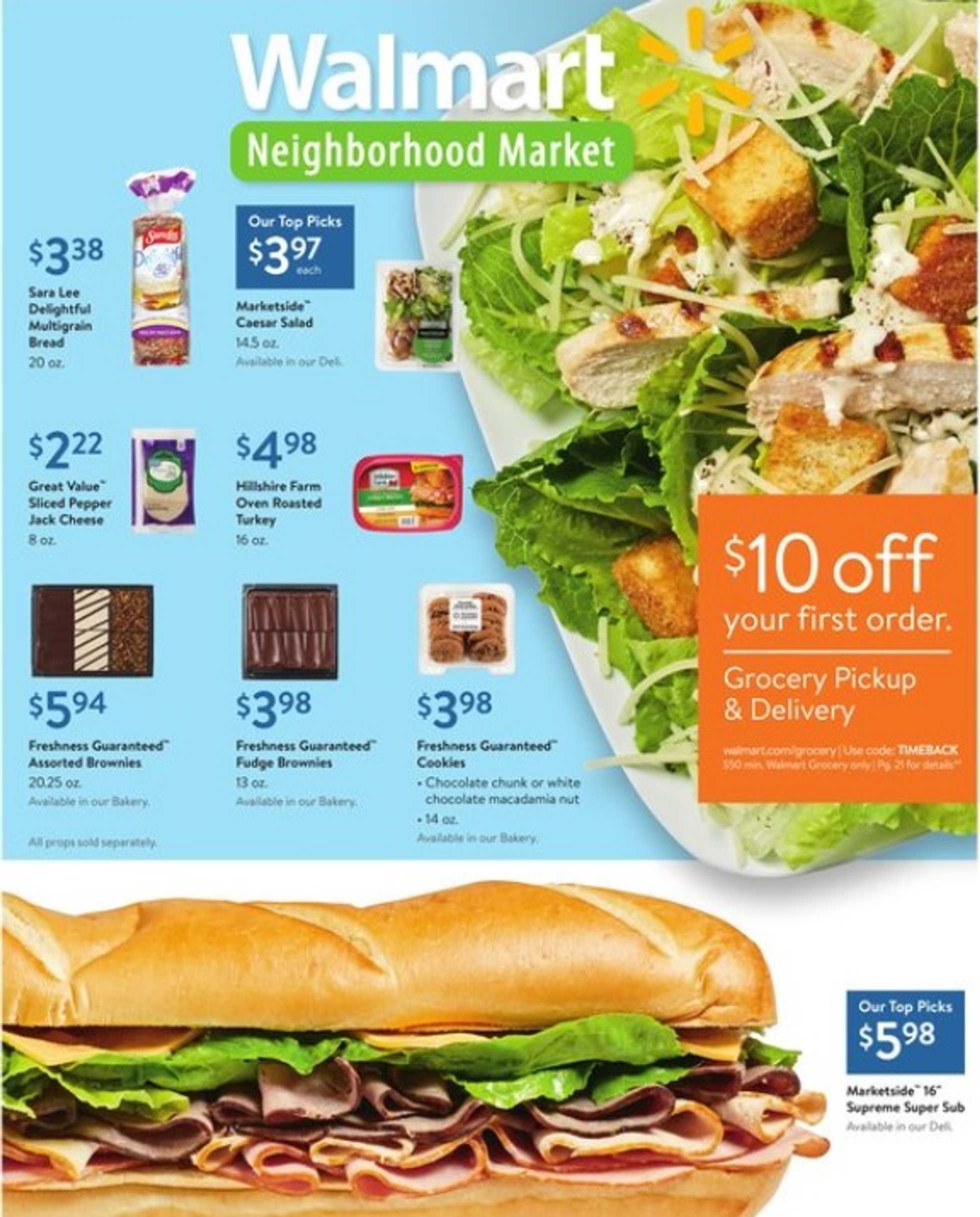 Walmart - deals are valid from 08/11/19 to 08/29/19 - page 1.