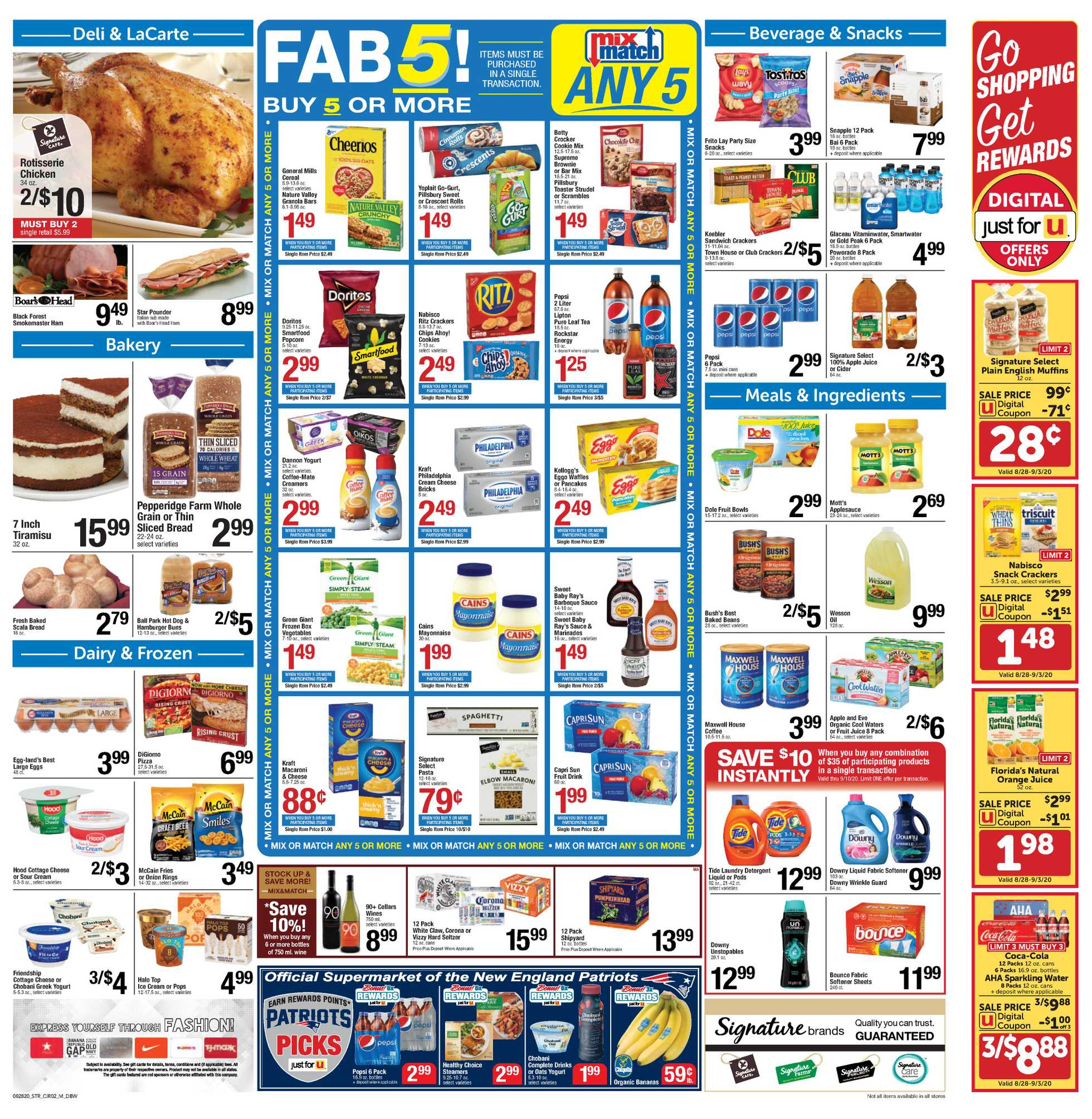 Star Market - deals are valid from 08/28/20 to 09/03/20 - page 2.