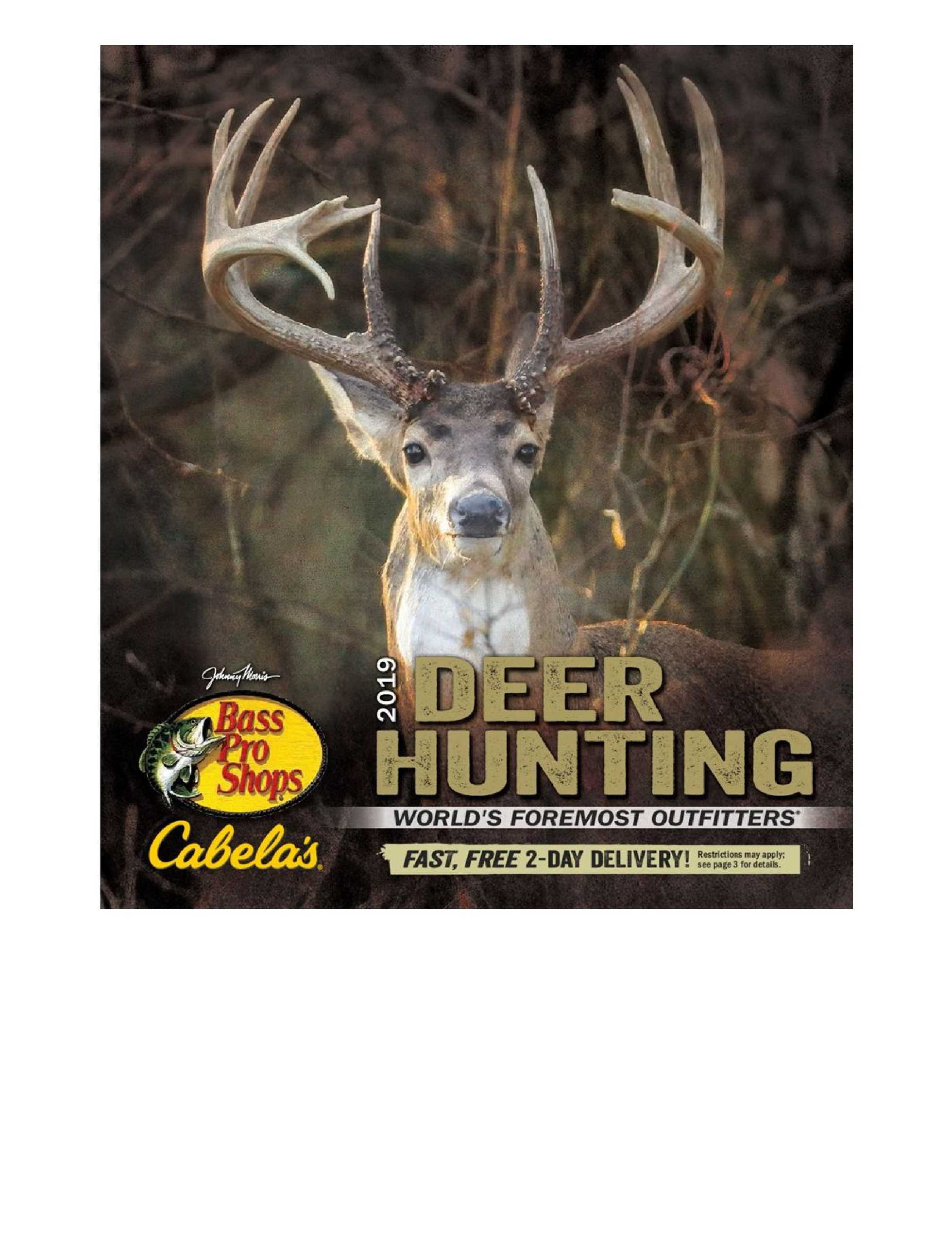 Bass Pro Shops - promo starting from 09/01/19 to 12/28/19 - page 1.