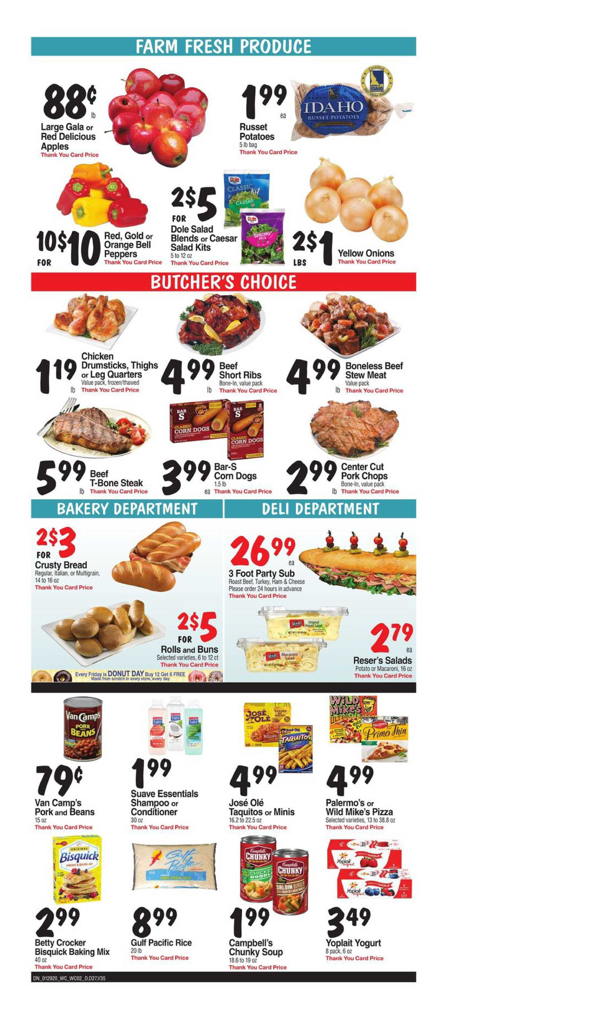 Bashas - deals are valid from 01/29/20 to 02/04/20 - page 3.