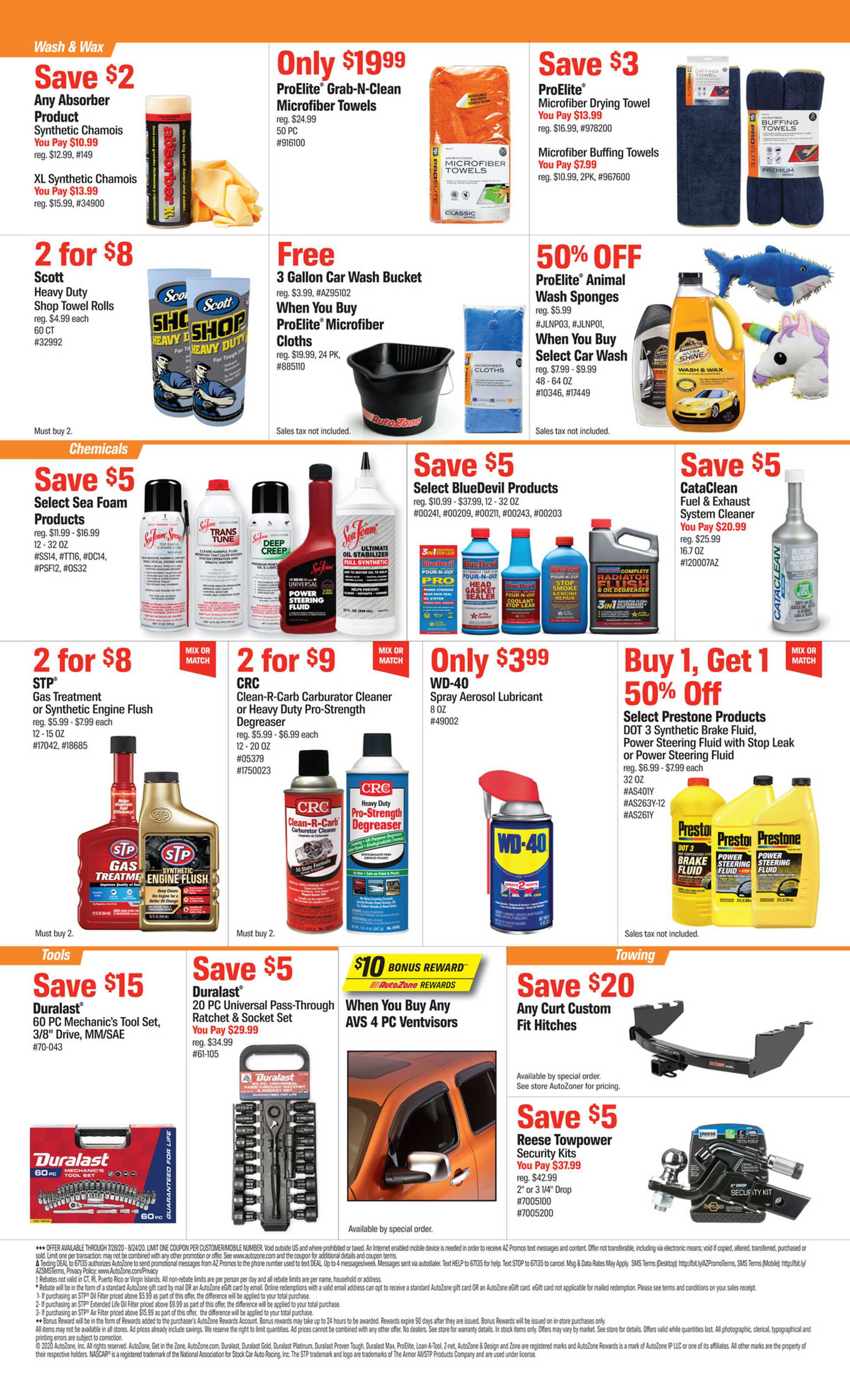 AutoZone - deals are valid from 07/28/20 to 08/24/20 - page 2.