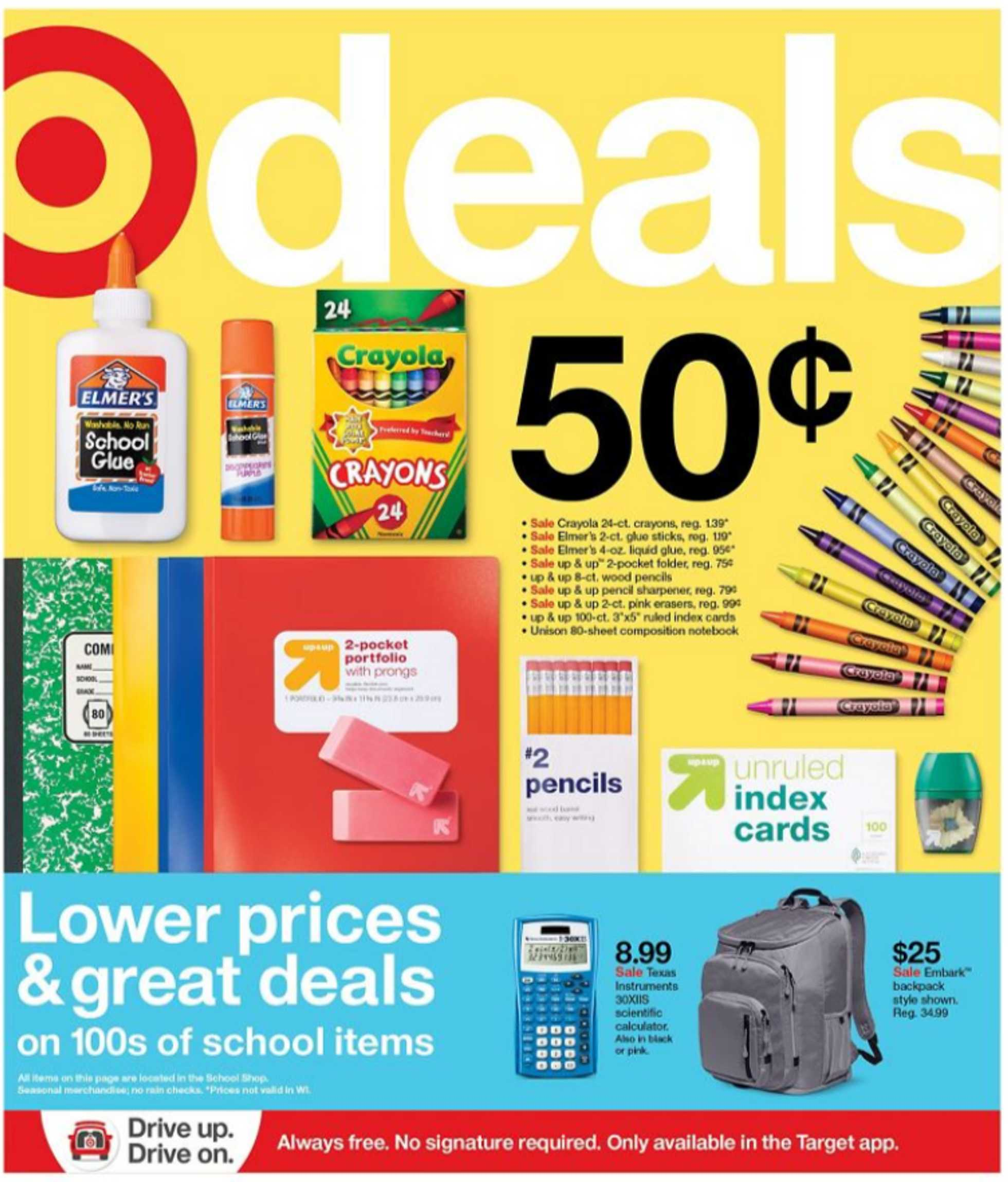 Target - deals are valid from 07/12/20 to 07/18/20 - page 1.