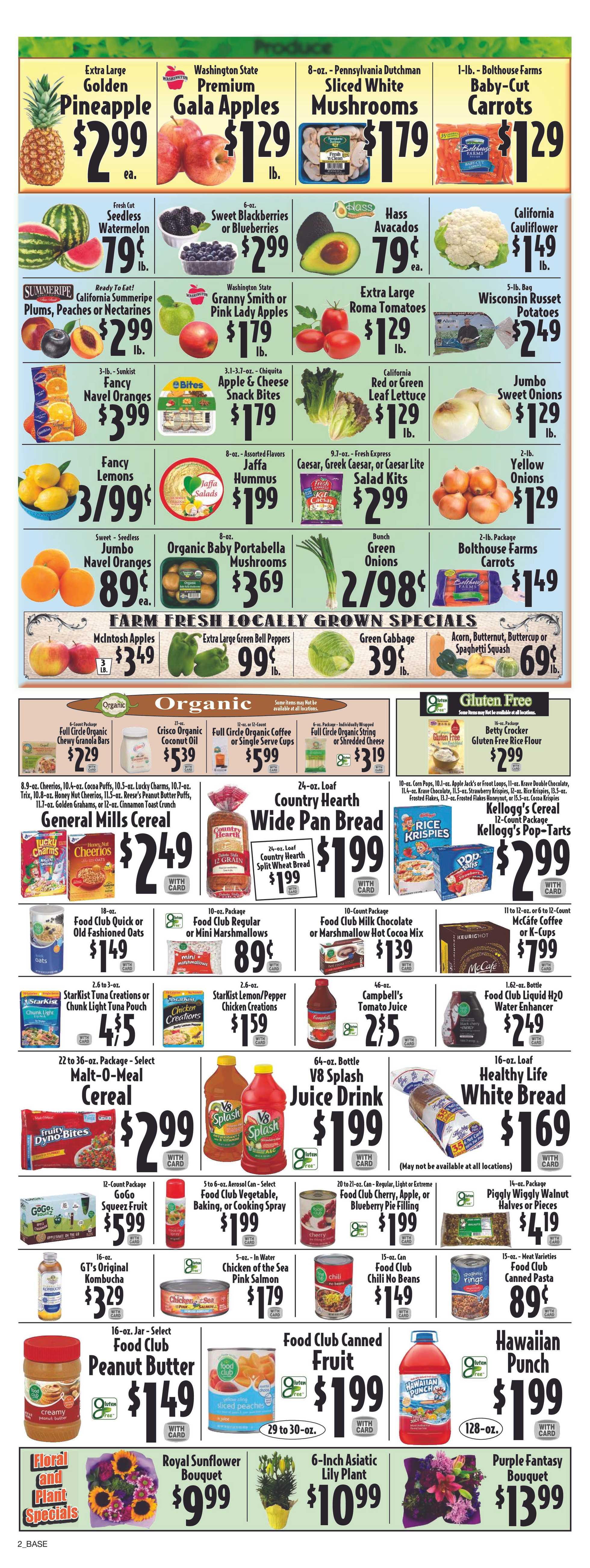 Piggly Wiggly - deals are valid from 09/18/19 to 09/24/19 - page 2.