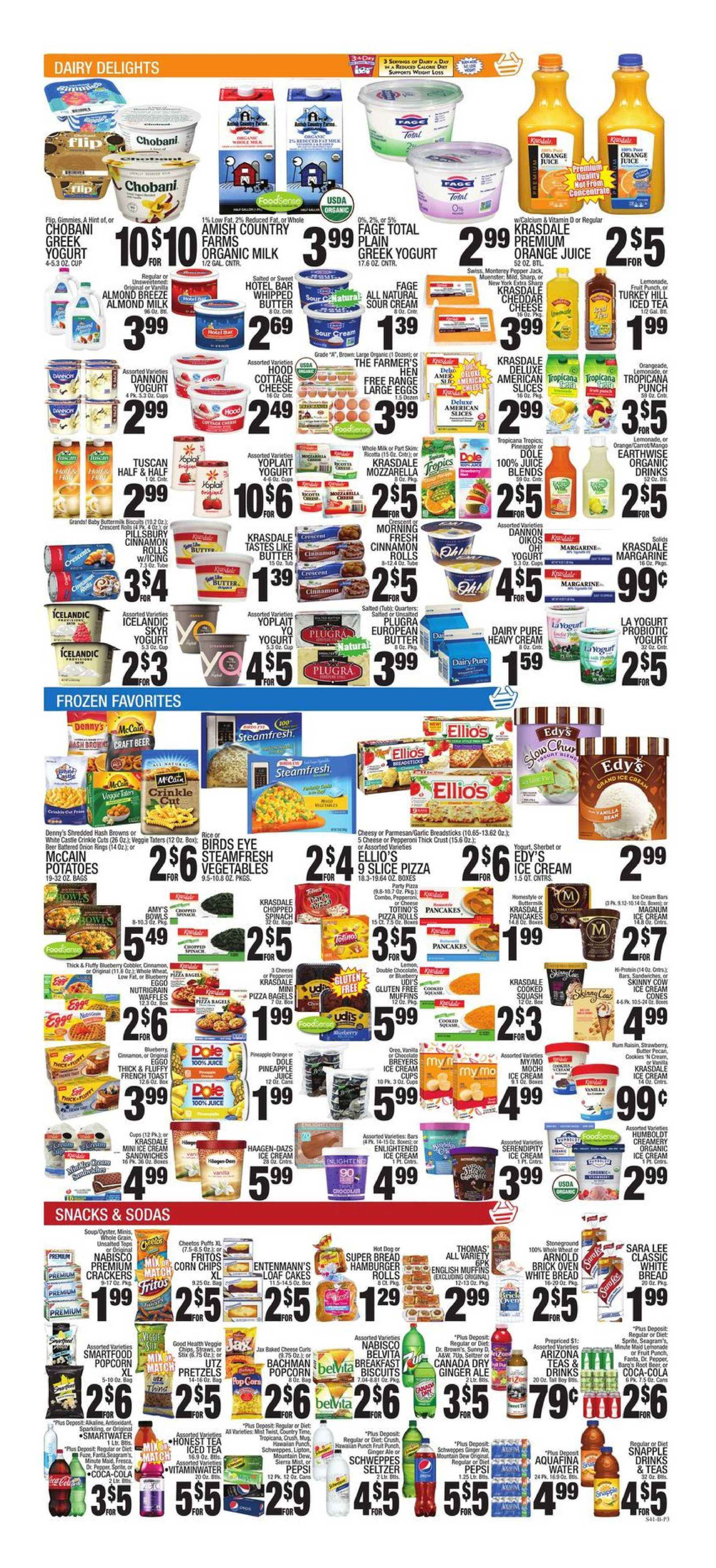 C-Town - deals are valid from 08/09/19 to 08/15/19 - page 3.