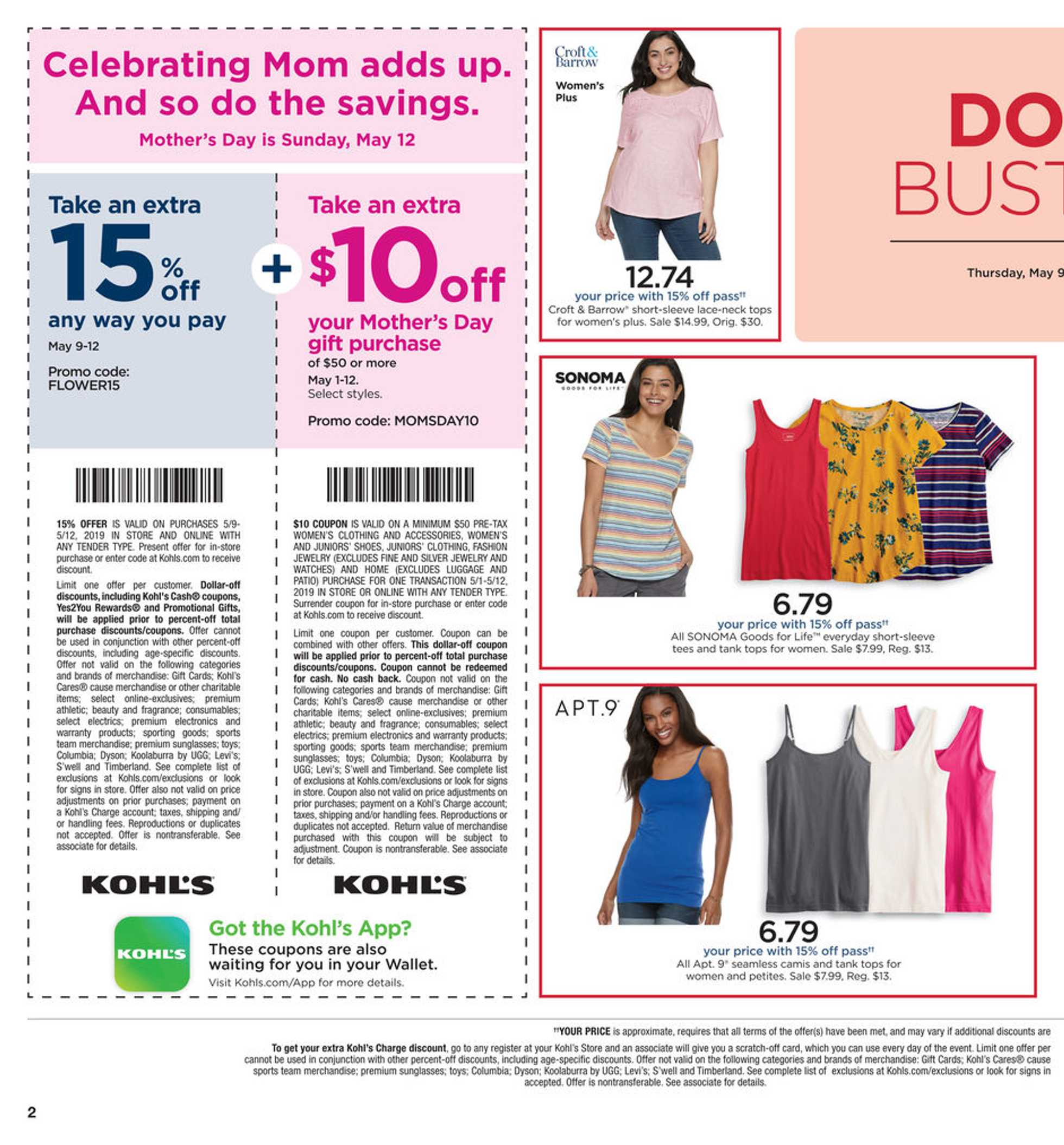 Kohl's - deals are valid from 05/09/19 to 05/19/19 - page 2.