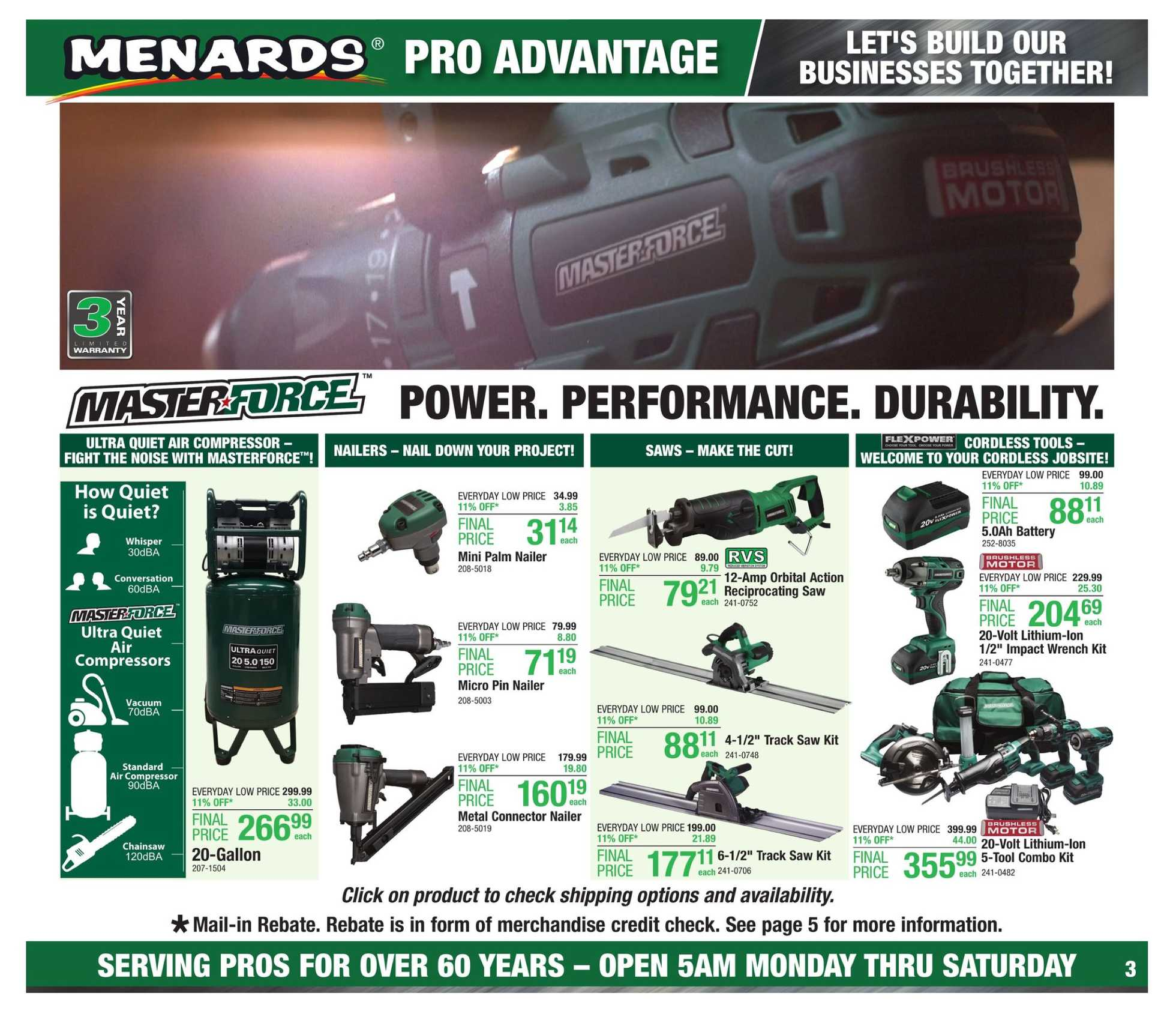 Menards - deals are valid from 08/25/19 to 09/02/19 - page 4.