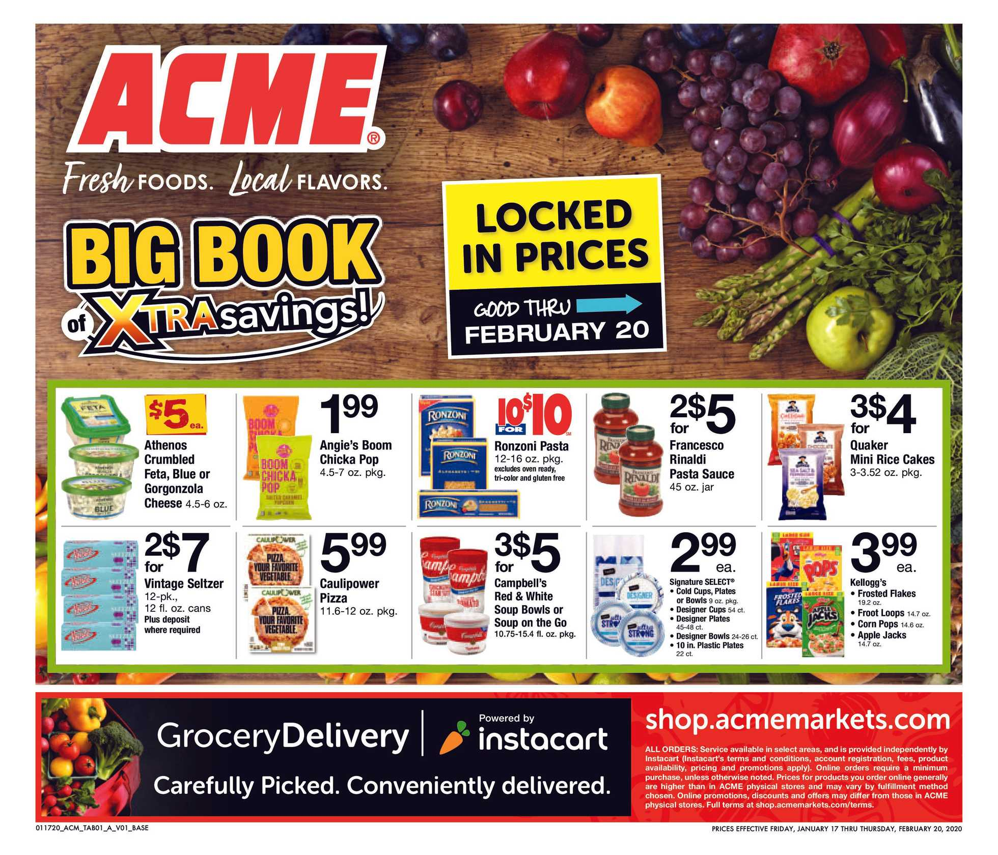 ACME - promo starting from 01/17/20 to 02/20/20 - page 1.