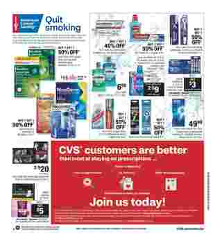 CVS - deals are valid from 01/12/20 to 01/18/20 - page 12.