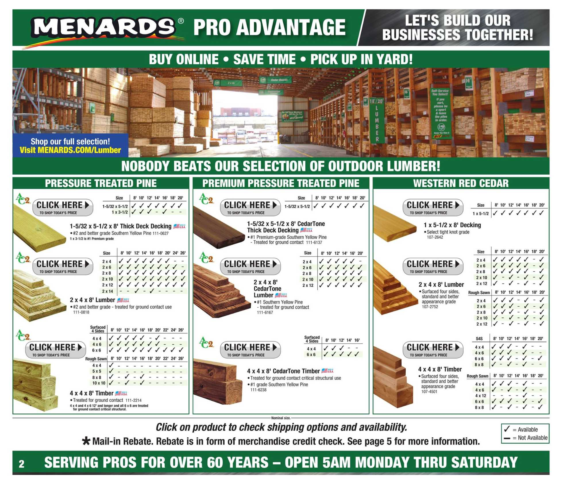 Menards - deals are valid from 08/25/19 to 09/02/19 - page 3.