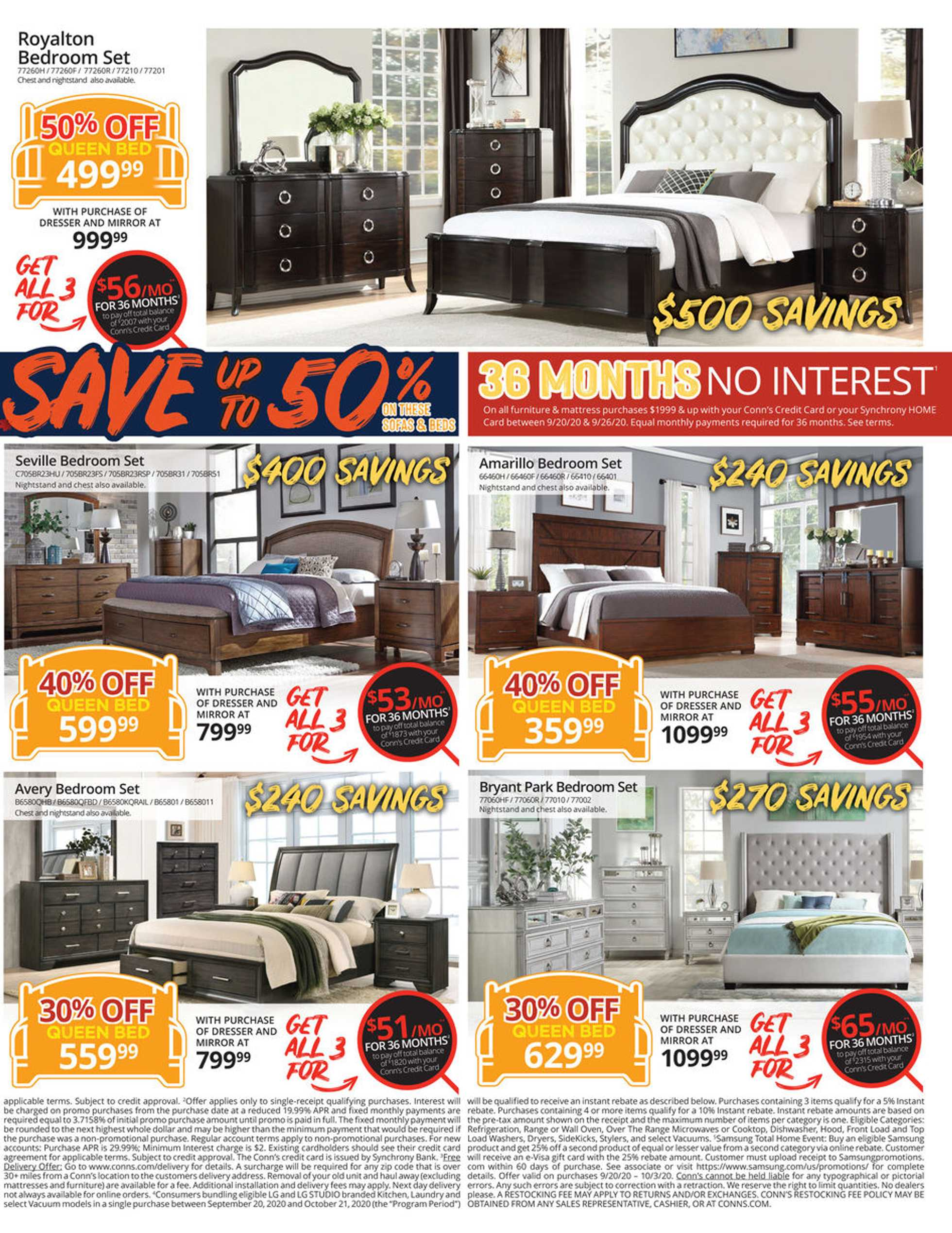 Conn's HomePlus - deals are valid from 09/20/20 to 09/26/20 - page 3.