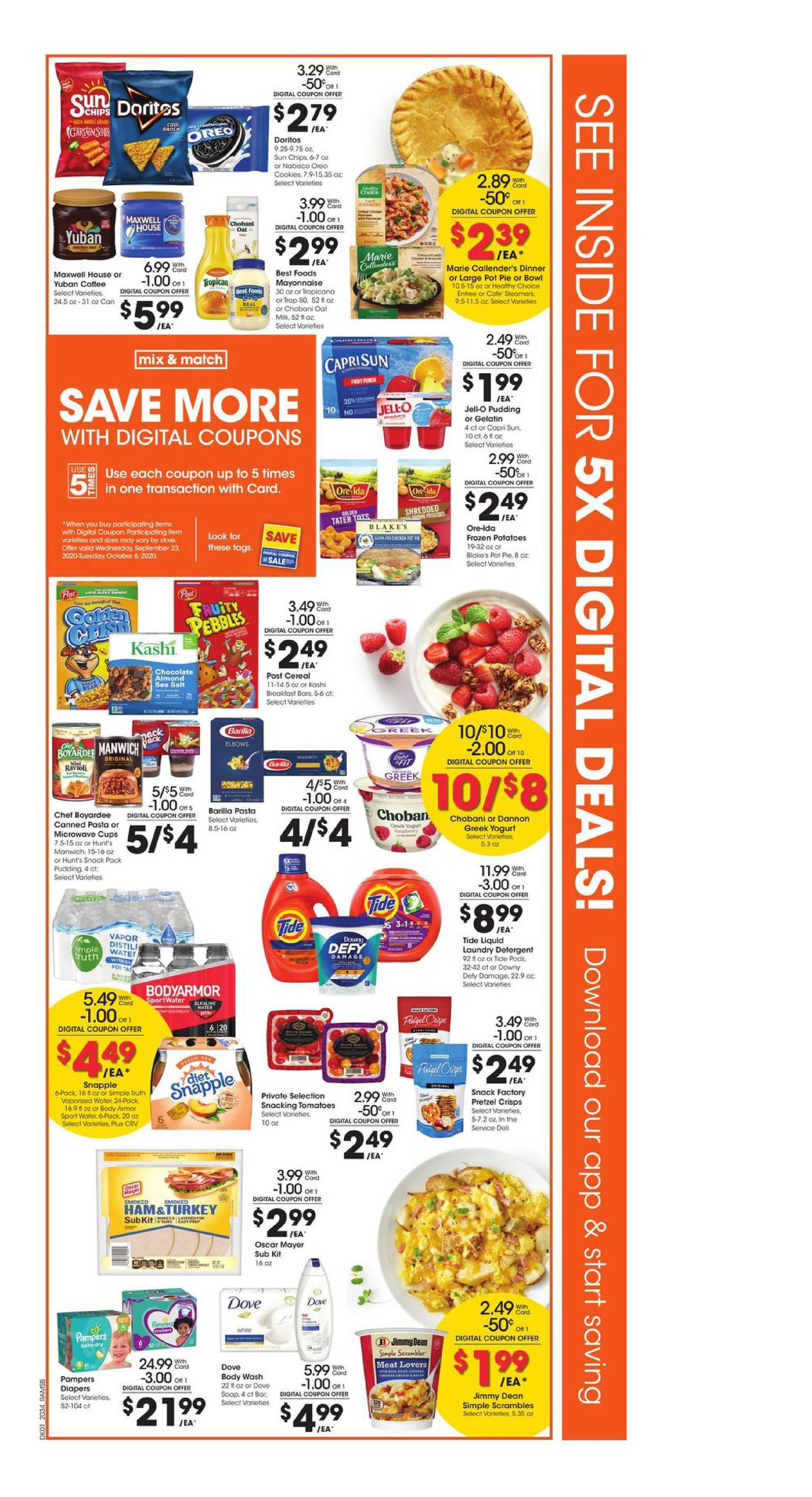 Ralphs - deals are valid from 09/23/20 to 09/29/20 - page 2.
