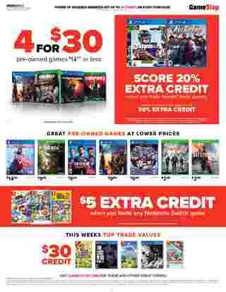 GameStop - deals are valid from 08/09/20 to 08/15/20 - page 6.